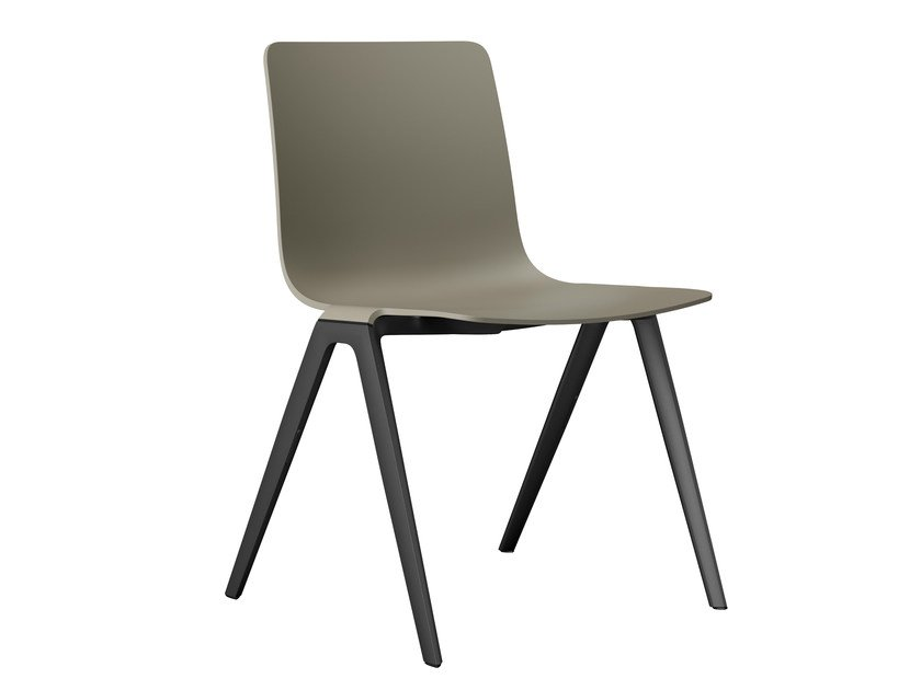 Stackable plastic chair A-Chair | Plastic chair - Brunner