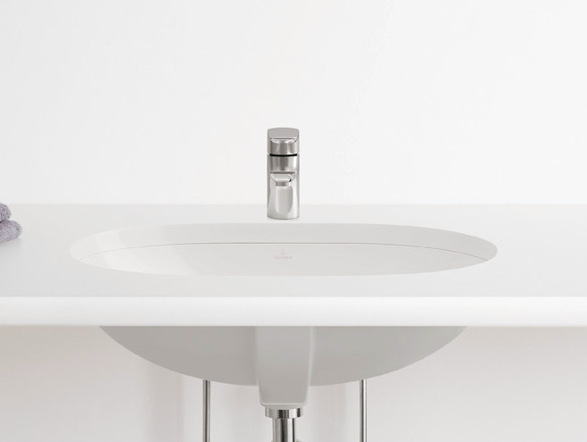 Undermount ceramic washbasin O.NOVO | Undermount washbasin - Villeroy & Boch