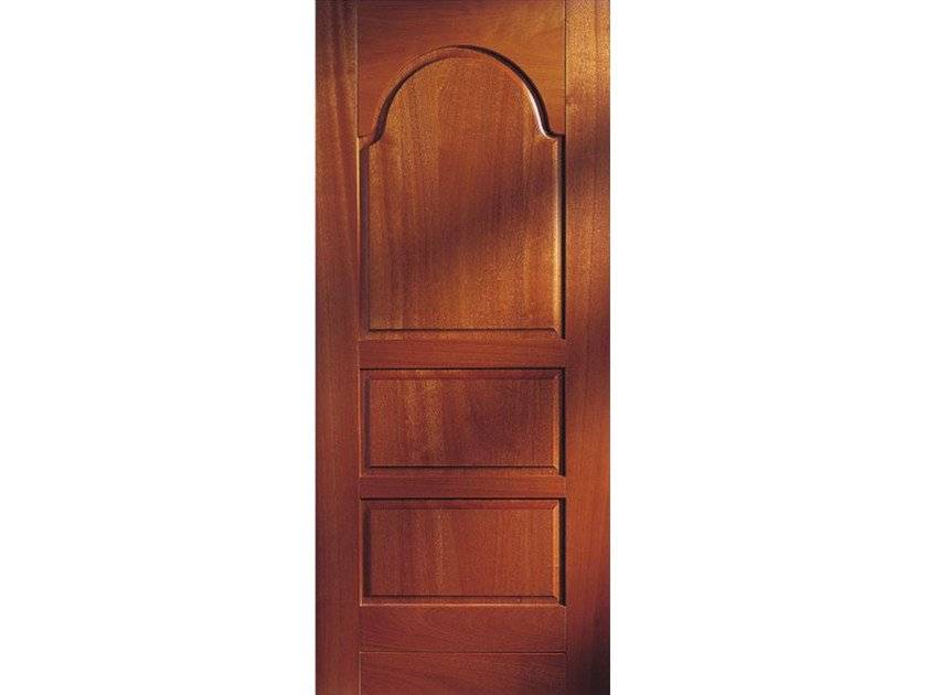 Mahogany armoured door panel BI126 by OMI ITALIA