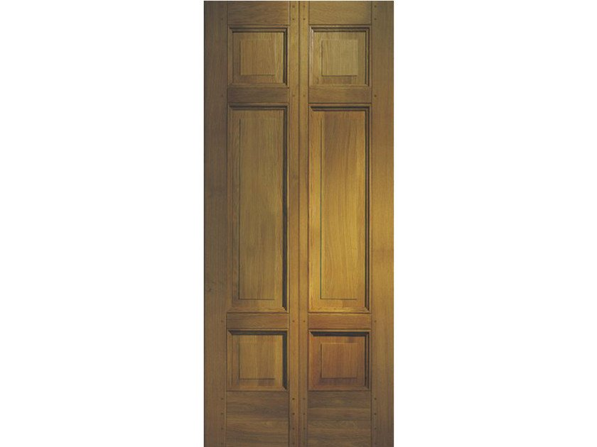 Oak armoured door panel BI166 by OMI ITALIA