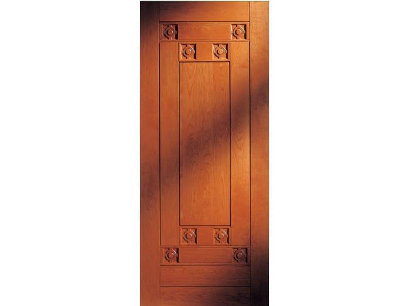 Cherry wood armoured door panel BI143 - OMI ITALIA