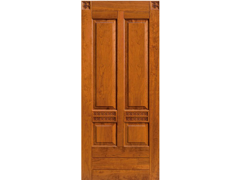 Cherry wood armoured door panel BI150 - OMI ITALIA
