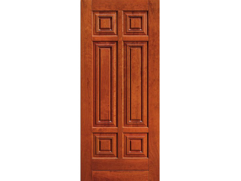 Cherry wood armoured door panel BI147 - OMI ITALIA