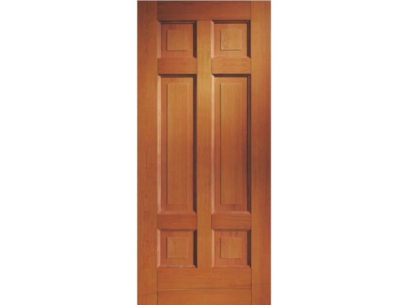 Cherry wood armoured door panel BI169 - OMI ITALIA