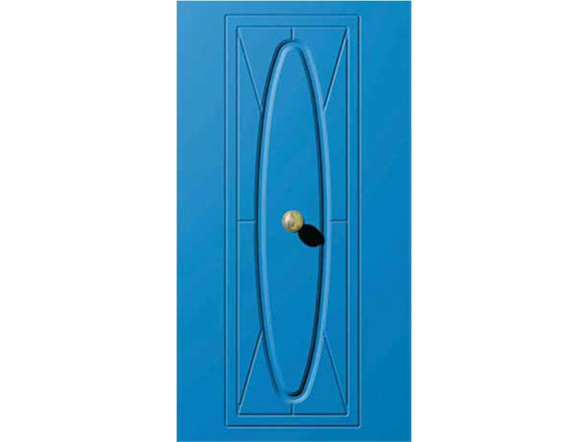 Aluminium armoured door panel E-STYLE 04 - OMI ITALIA