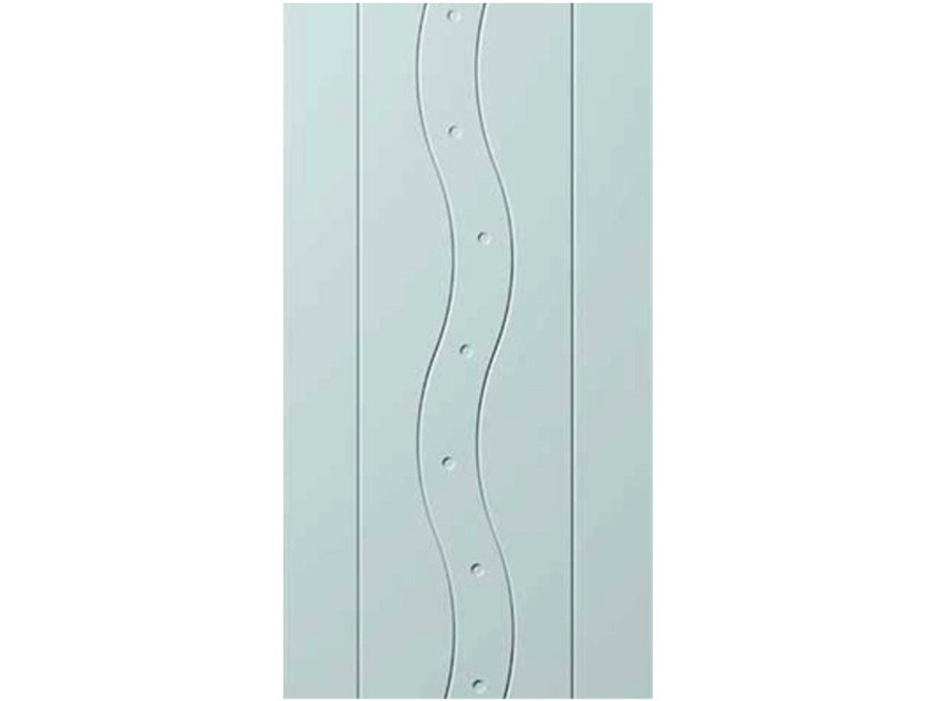 Aluminium armoured door panel E-STYLE 23 - OMI ITALIA