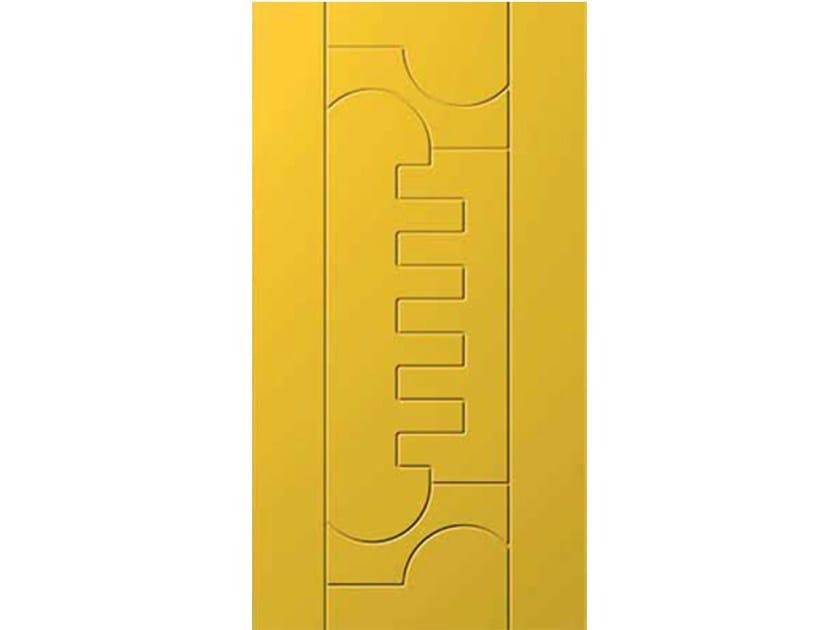 Aluminium armoured door panel E-STYLE 13 by OMI ITALIA