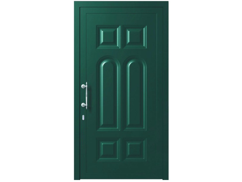 Aluminium armoured door panel AFRODITE - OMI ITALIA