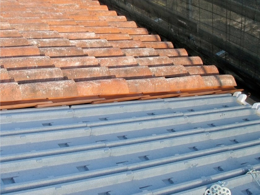 Neopor® under-tile system ISOLPIU' COPPO S by Sive