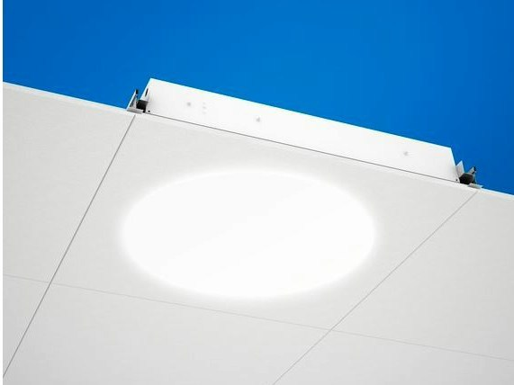 LED recessed Lamp for false ceiling Ecophon Dot™ LED by Saint-Gobain ECOPHON