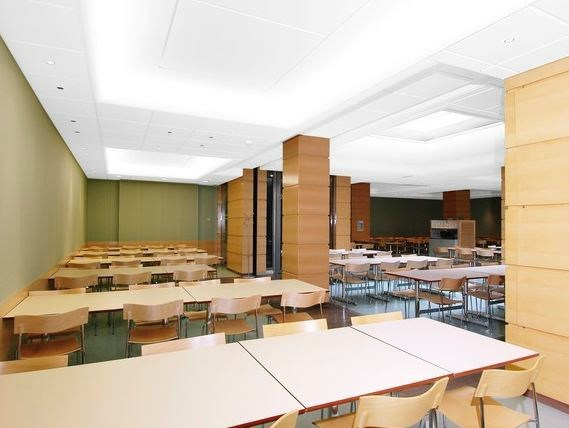Sound absorbing other materials ceiling tiles Ecophon Light Coffer by Saint-Gobain ECOPHON
