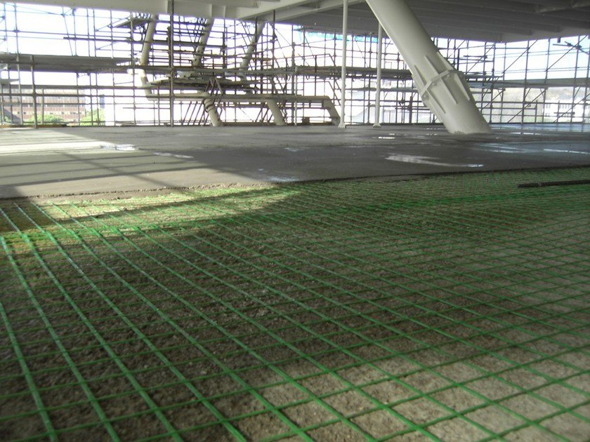 FRP reinforcing mesh for floors FIBREBUILD | Floors - FIBRE NET