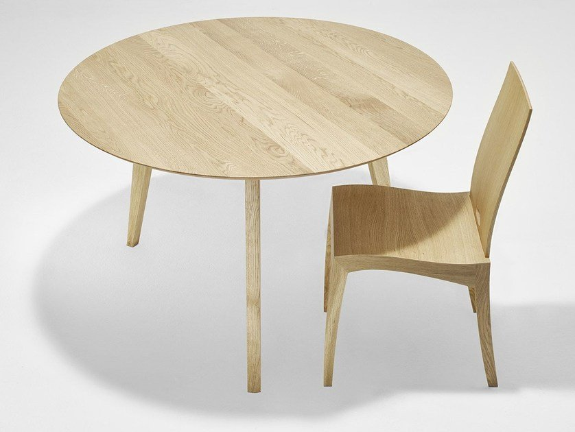 Round dining table FINN | Round table - sixay furniture