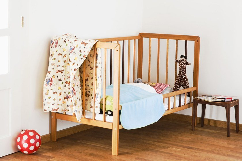 Birch cot SIXKID | Cot by sixay furniture