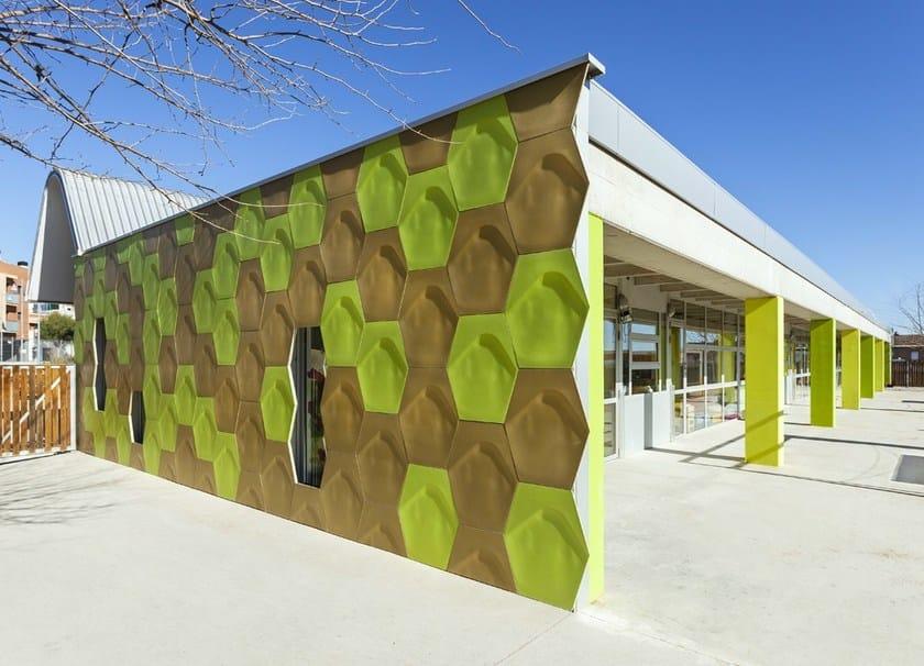 Ventilated facade ULMA CREAKTIVE by Kalikos