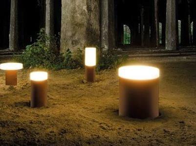 LED PMMA Floor lamp CLAMP 60 BIG | Floor lamp by Lombardo