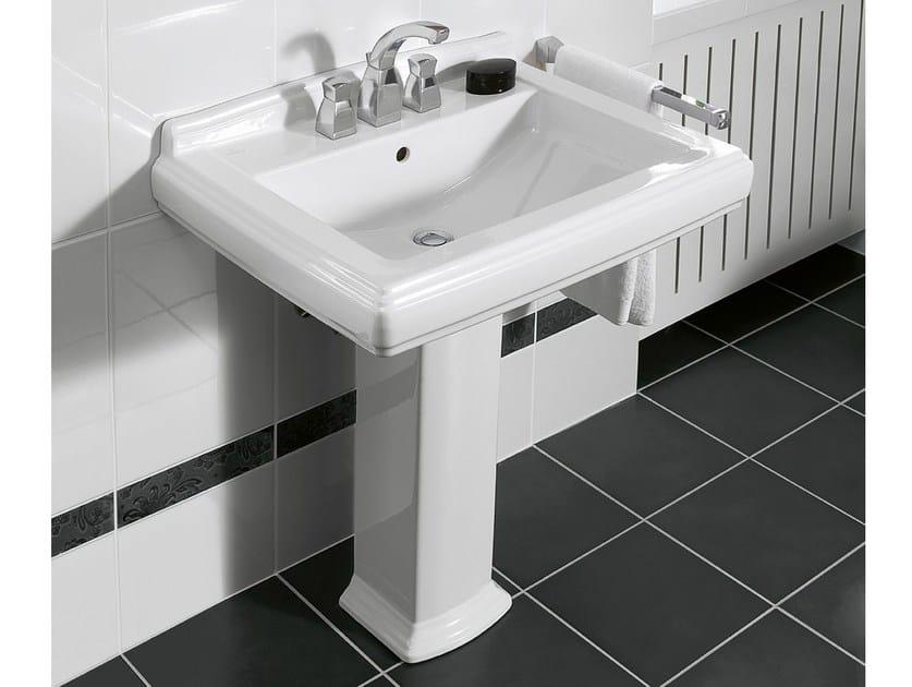 Pedestal ceramic washbasin HOMMAGE | Washbasin - Villeroy & Boch