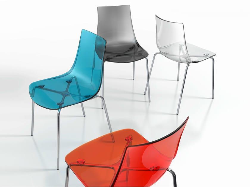 Polycarbonate chair YANKY - CANCIO