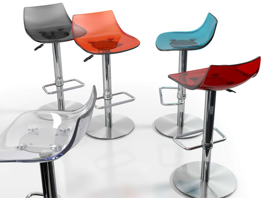 Height-adjustable stool CHEF | Stool - CANCIO
