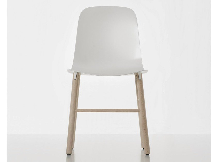 Polyurethane chair SHARKY | Chair - Kristalia