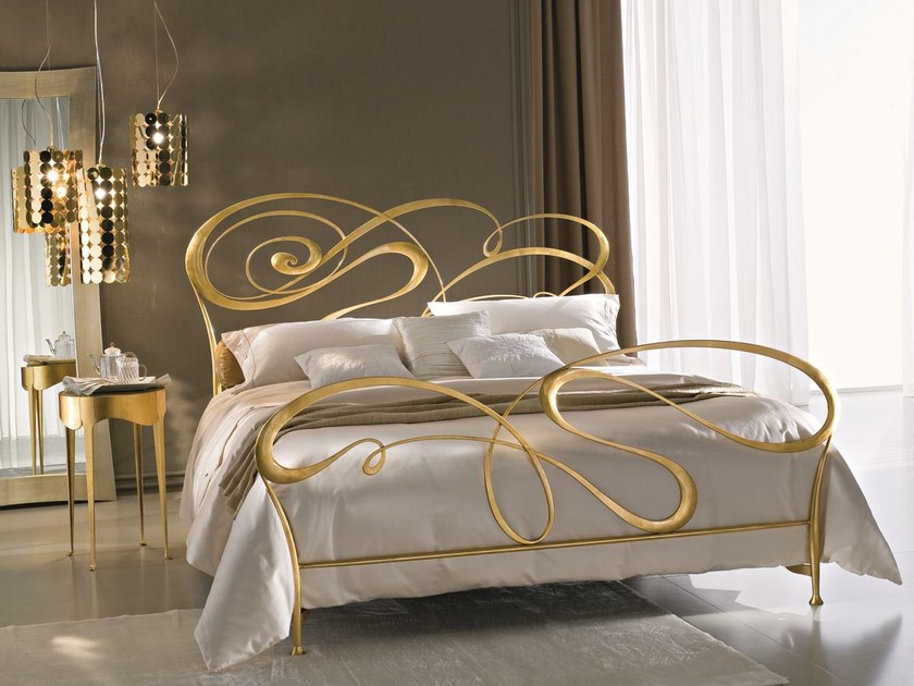 Wrought iron double bed FLY by CIACCI