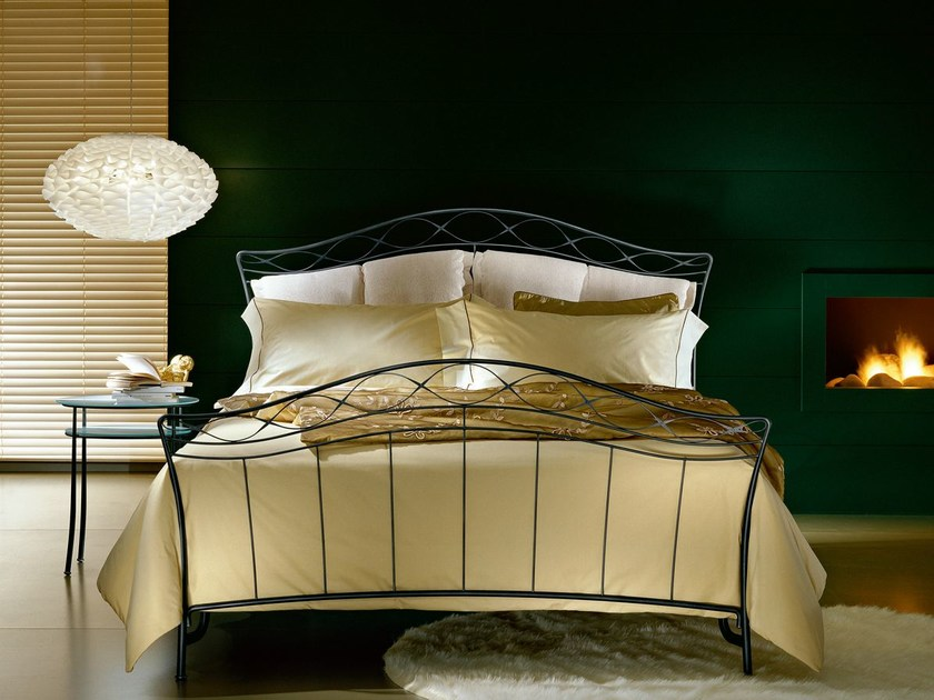 Wrought iron double bed MIRELLE - CIACCI