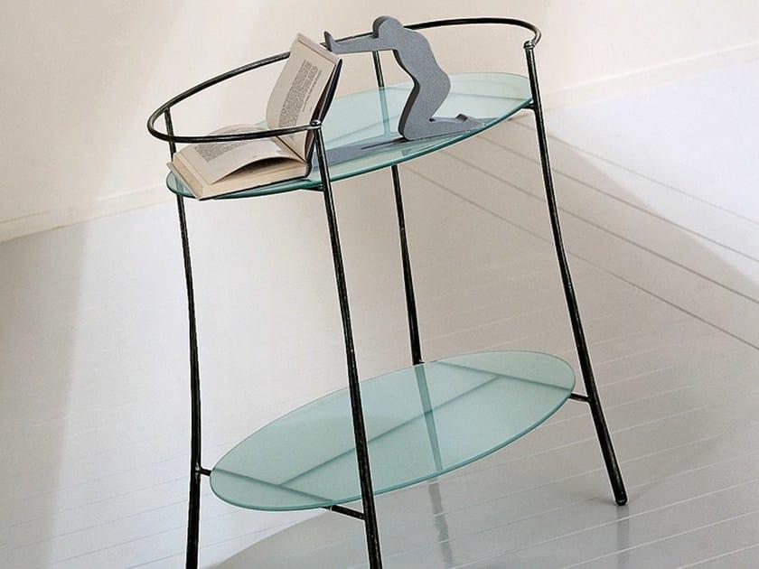 Oval bedside table ABBRACCIO - CIACCI