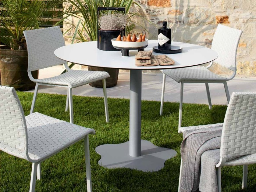 Round garden table SAMBA RIO | Garden table by Roberti Rattan