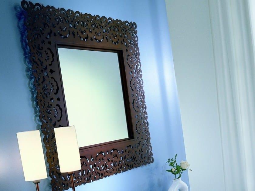 Freestanding square framed mirror ARIA   Square mirror - CIACCI