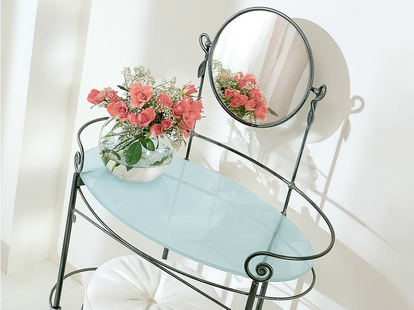Wrought iron dressing table MARLENE - CIACCI