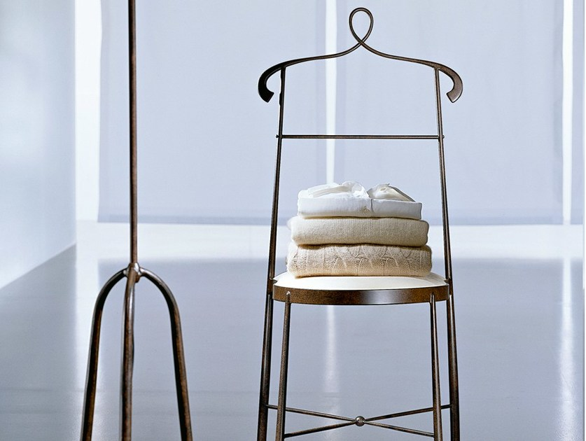 Wrought iron chair / valet stand EVITA by CIACCI