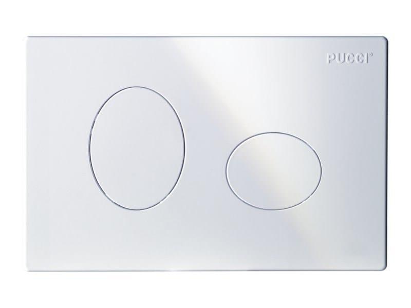 Flush plate PUCCI ECO ELLISSE | Flush plate - PUCCIPLAST