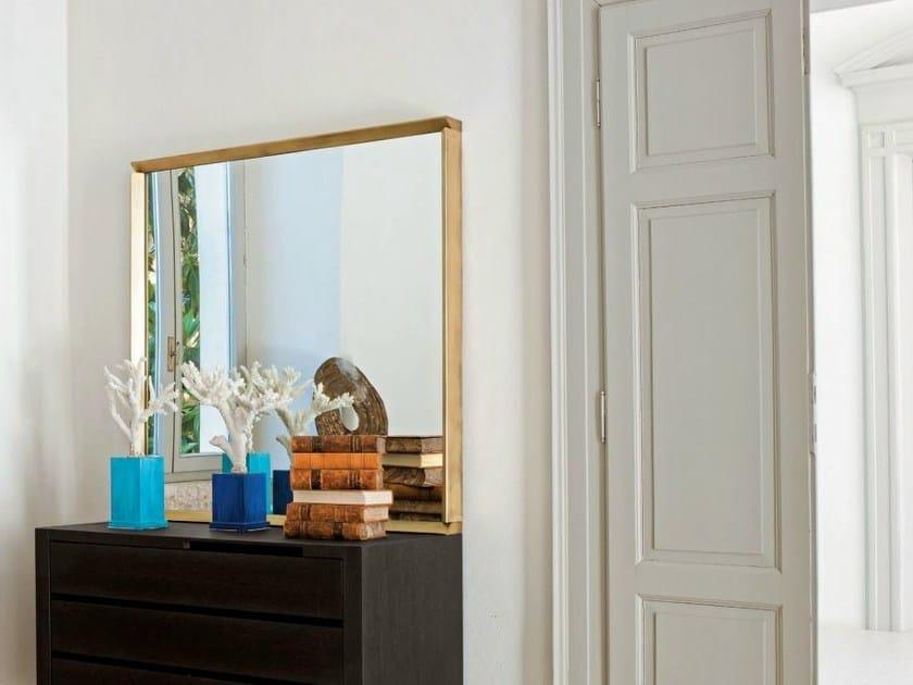 Square framed mirror SQUARE | Square mirror - CIACCI