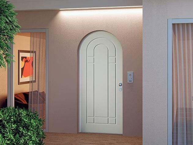 Wooden safety door 883 by DiBi Porte Blindate