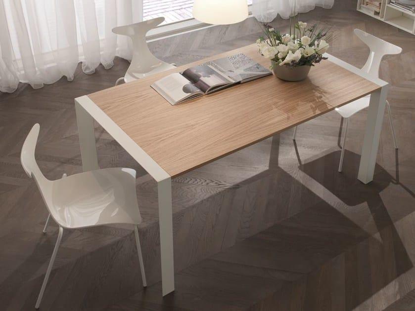 Rectangular dining table DOMINO | Rectangular table - CIACCI