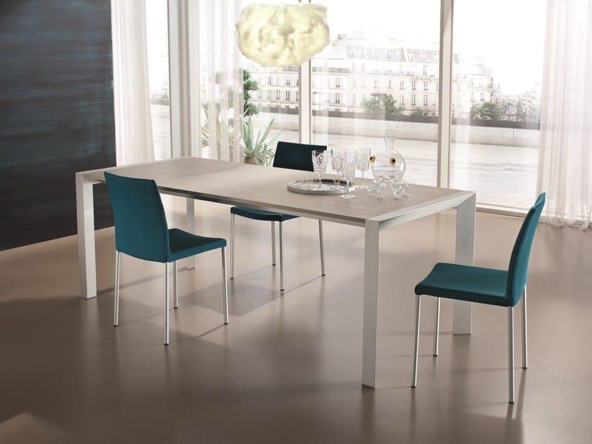 tavolo allungabile rettangolare domino | tavolo allungabile - ciacci - Tavolo Allungabile Rettangolare