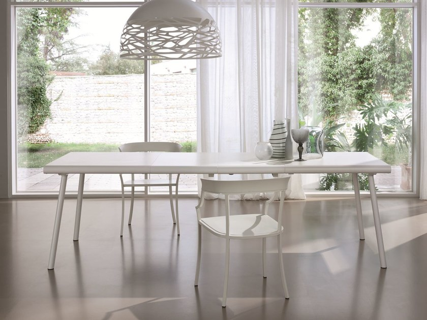 Extending rectangular table SAMOA by CIACCI