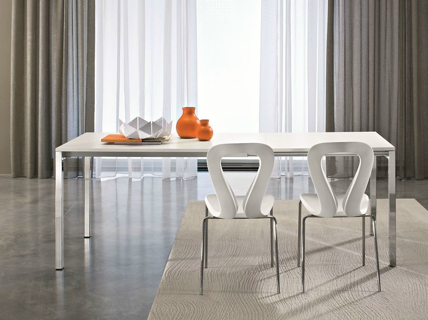Extending rectangular table YOUNG | Extending table - CIACCI