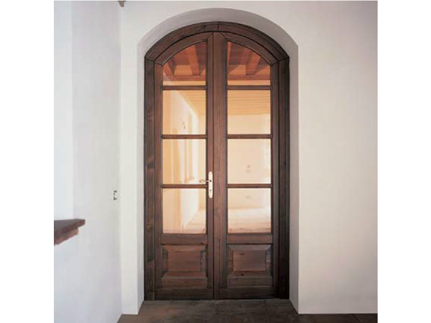 Pine patio door EURO 68 | Patio door - CARMINATI SERRAMENTI