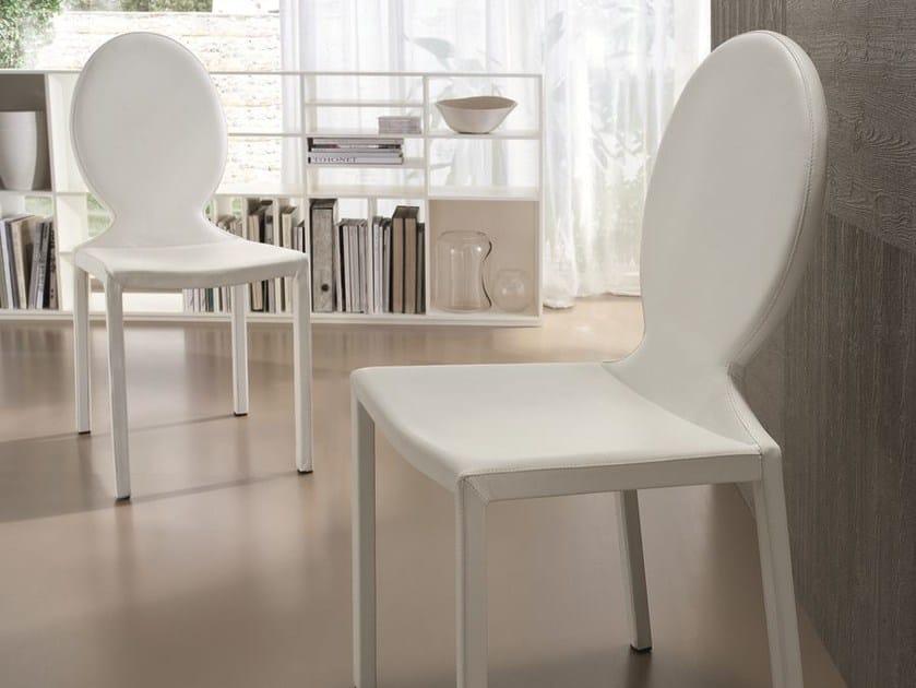 Leather chair PARIS - CIACCI
