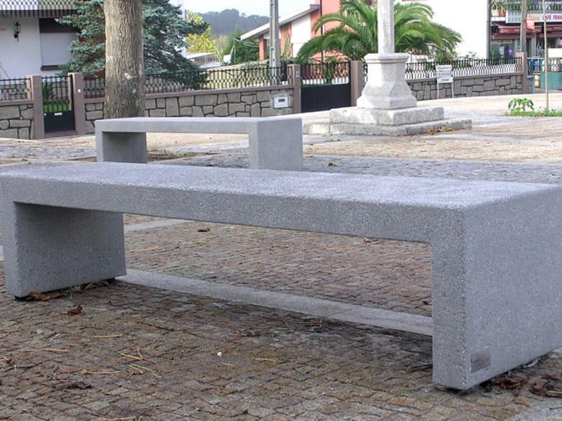 Concrete Bench BLOC CONCRETE   Bench by Factory Furniture