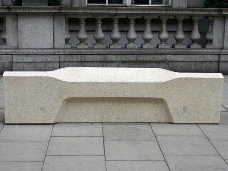 Concrete Bench Camden By Factory Furniture
