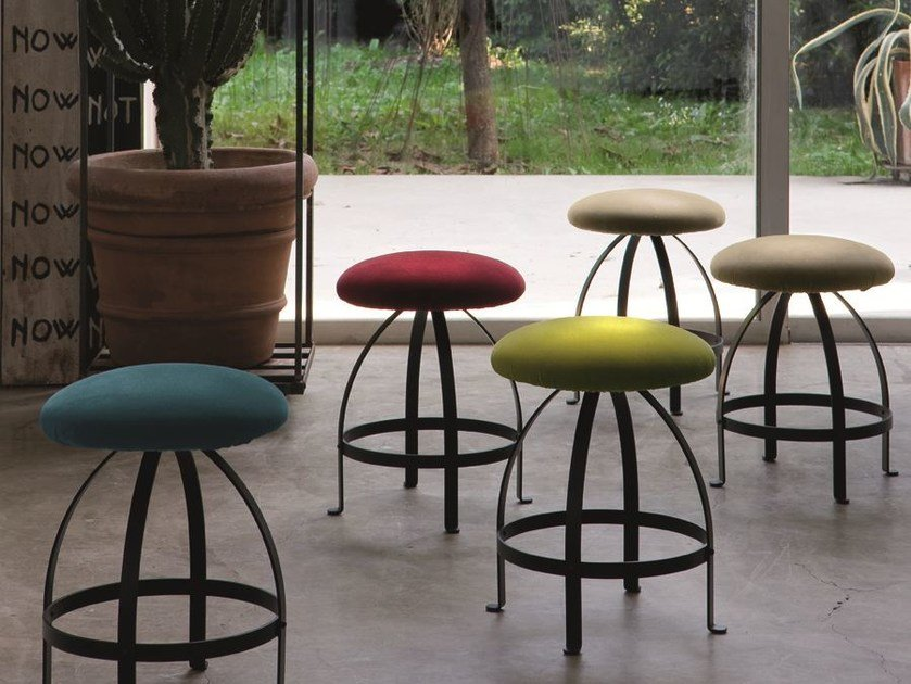Upholstered stool BLOOM - CIACCI