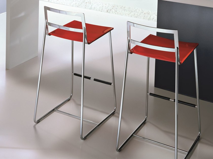 Sled base high stool HAPPY - CIACCI