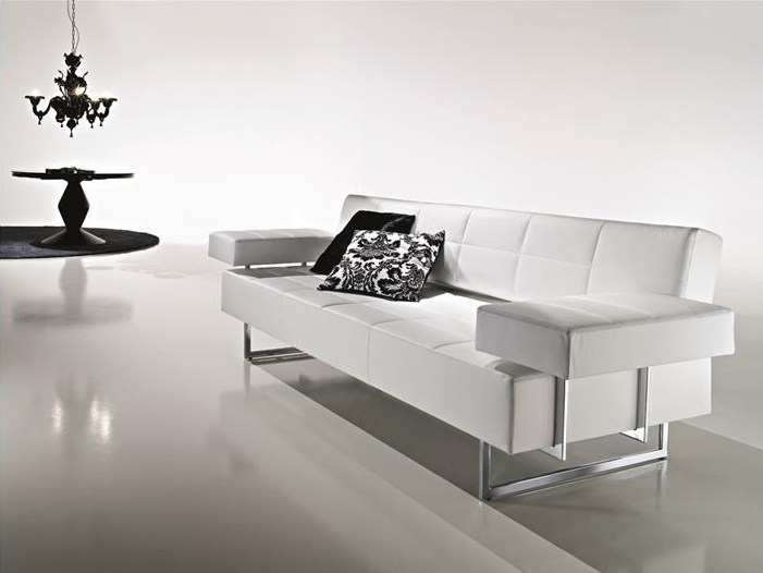 Sled base sofa CLARK | Sled base sofa by CIACCI