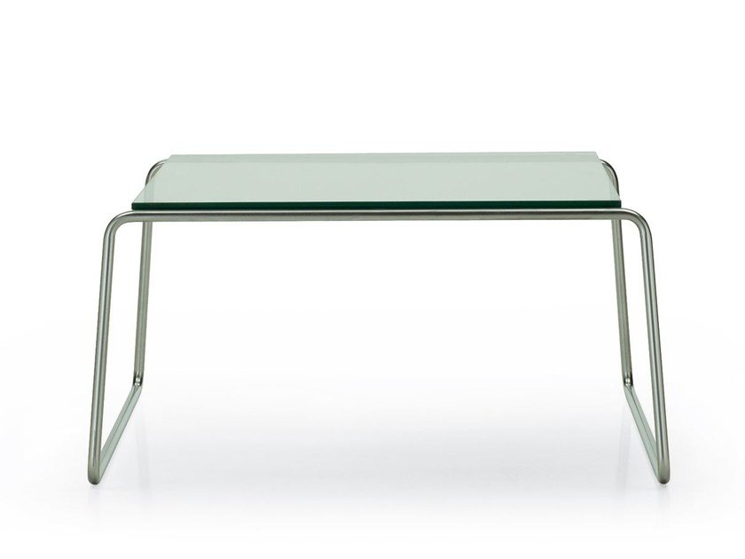 Rectangular glass coffee table BEN | Rectangular coffee table by ROSSIN