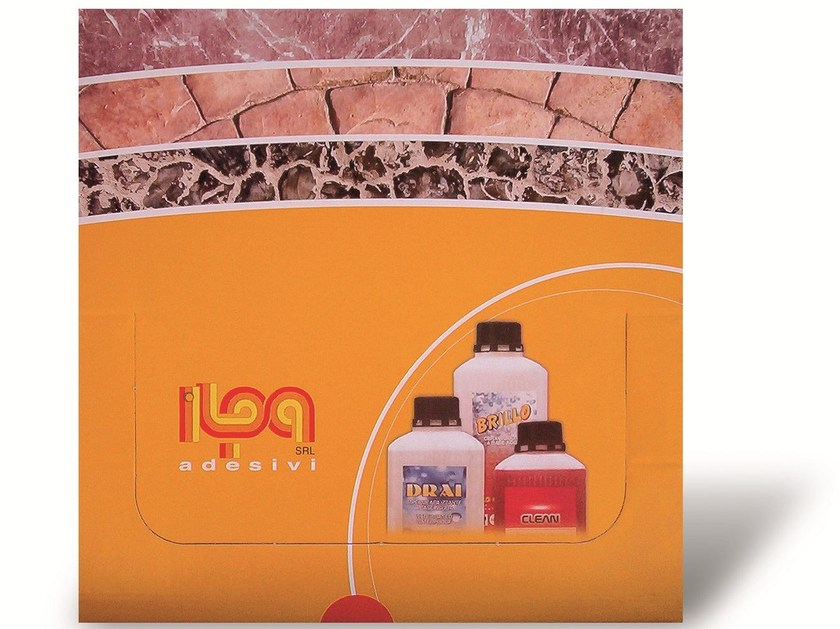 Kit for marble care CARE KIT MARBLE - ILPA ADESIVI