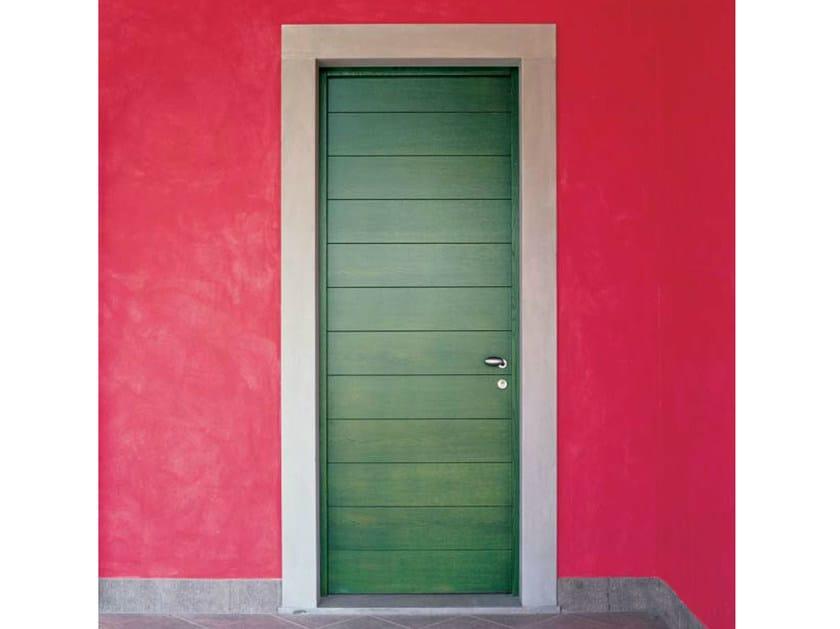 Exterior multi-layer wood entry door Multi-layer wood entry door - CARMINATI SERRAMENTI
