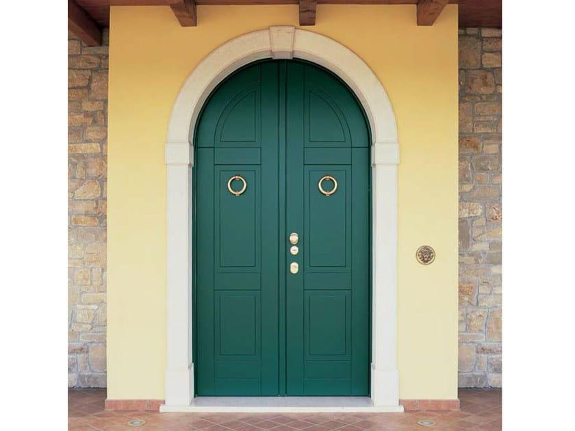 Porta d 39 ingresso blindata ad arco per esterno porta d - Portoncini blindati per esterno ...
