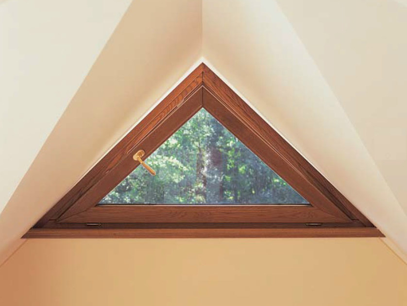 Wooden bottom-hung window EURO 68 | Bottom-hung window - CARMINATI SERRAMENTI